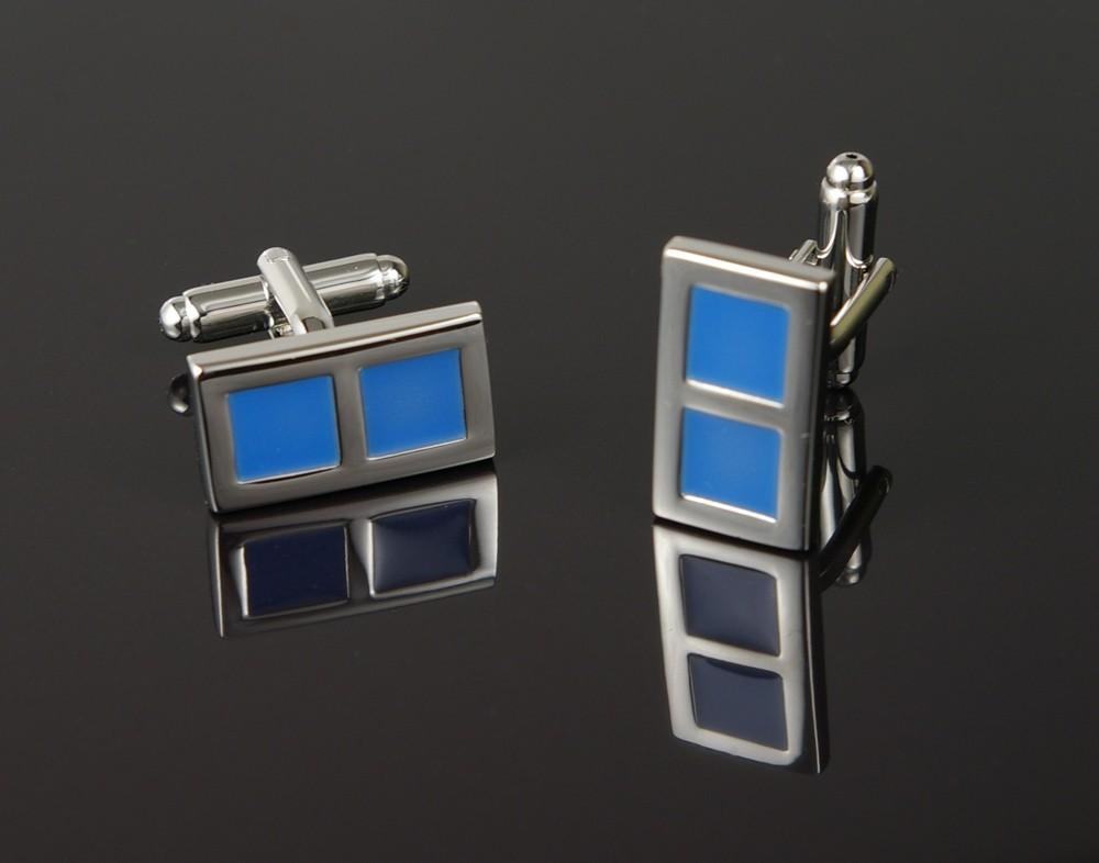 Blue Window Cufflinks