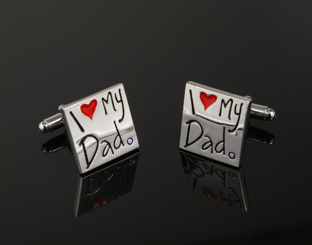 I <3 My Dad Cufflinks