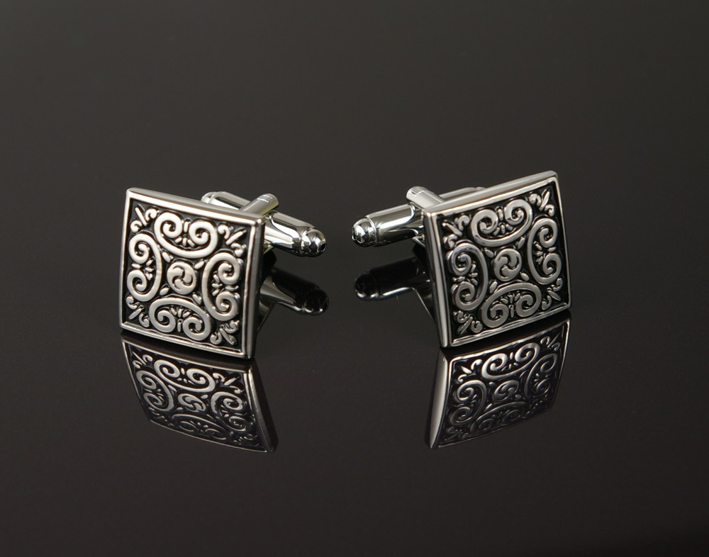 Decorative Square Cufflinks