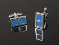 Blue Window Cufflinks
