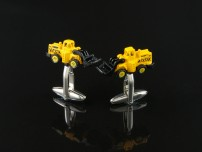 Bulldozer Cufflinks