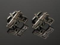 007 Gun Cufflinks